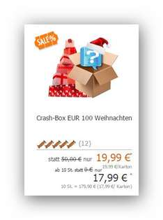 Crash Box 100 für 19,99 Euro