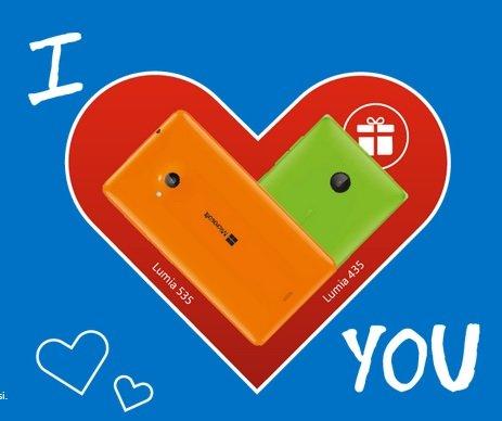 [Nur in Italien] Kostenloses Lumia 435 beim Kauf eines Lumia 535