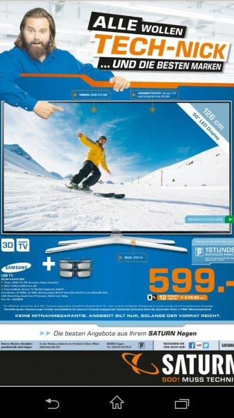 [Saturn Hagen, Iserlohn] 50 Zoll Samsung 3D  TV