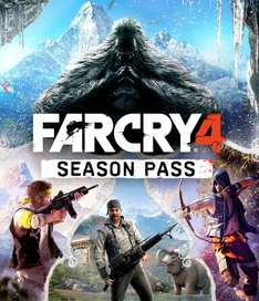 Far Cry 4 Season Pass für PS4 im Playstation Store für 20,99€