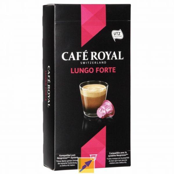 "MIGROS : Café Royal ""Lungo Forte"" kompatibel zu NESPRESSO - 270Kapseln für 40,18EUR (~15Ct/Kapsel)"