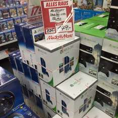[Lokal - MM Stuttgart] Microsoft Xbox 360 E 500GB Special Edition - Max: The Curse of Brotherhood + Toy Soldiers
