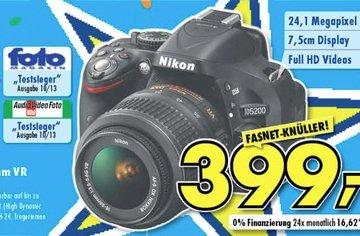 [Euronics] Nikon D5200 + Nikkor 18-55 mm VR