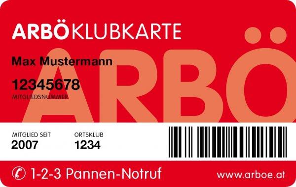ÖSTERREICH: Kostenlose Jahresmitgliedschaft beim ARBÖ (Autofahrerclub / Pannenhilfe)