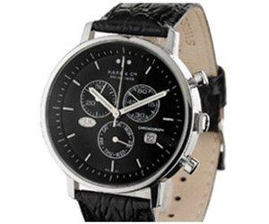 [AmazonPrime] minus 24 % Idealo -- Haas & Cie Herren-Armbanduhr Vitesse Chronograph Quarz Leder
