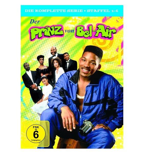 Der Prinz von Bel-Air - Die komplette Serie (Staffel 1-6) [23 DVDs] für 29,97€ @Amazon.de