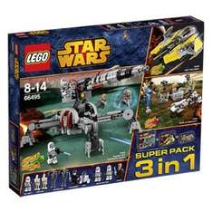 Lego Star Wars - Super Pack 3 in 1 (66495) für 60,91 € @Real Online Shop