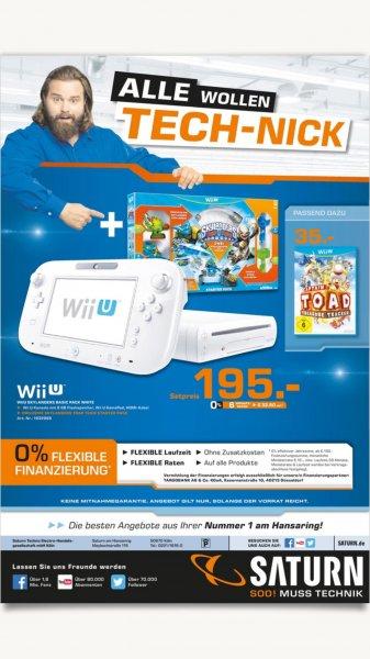 NINTENDO Wii U Skylanders Trap Team Bundle (weiß) Saturn Köln Hansaring