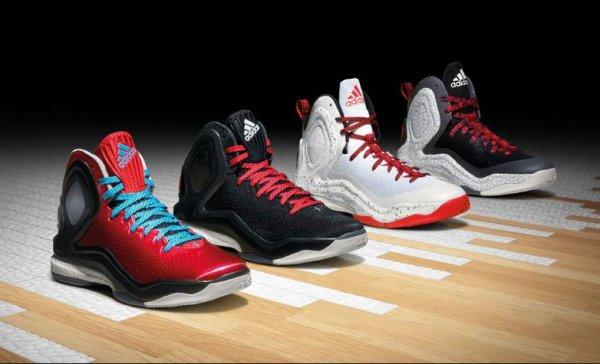 [Basketballshop24.de und Zalando] Adidas D Rose 5 Boost  (mehrere Farben) für € 99