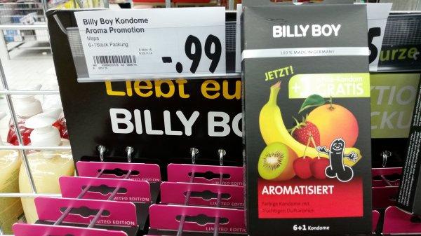[LOKAL Kaufland Rödermark-Urberach] 7 Billy Boy Aroma Kondome für 0,99€