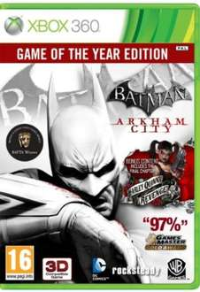 Batman: Arkham City - Game of the Year Edition (Xbox 360) für 7,95€ @Coolshop