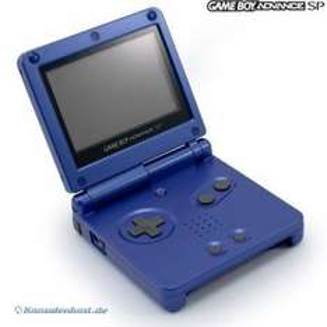 GameBoy Advance - Konsole GBA SP #blau (inkl. Netzteil) (gebraucht)