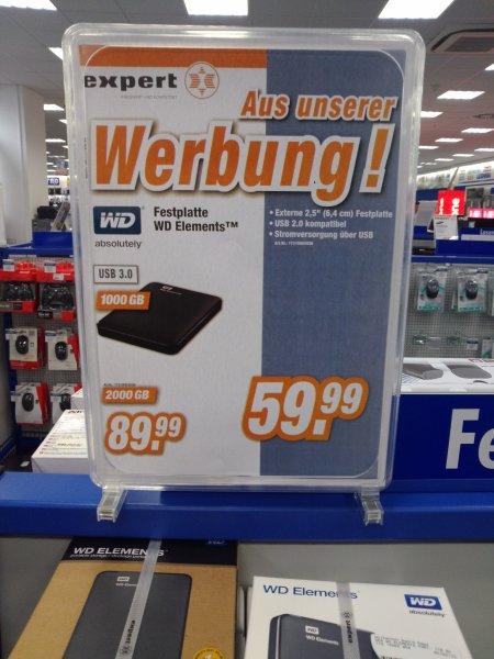 lokal Suhl Lollek und Bolek: WD Speicher 1TB 59,99 &  2TB 89,99