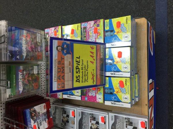 [Saturn Dortmund City] Nintendo DS Spiele Squinkies und ZhuZhu Puppies 1,11€