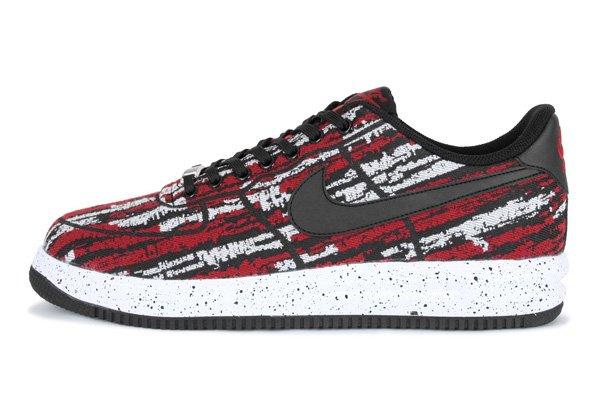 [Thegoodwillout] Nike Lunar Force 1 '14 Jacquard QS (schwarz und rot) für € 74
