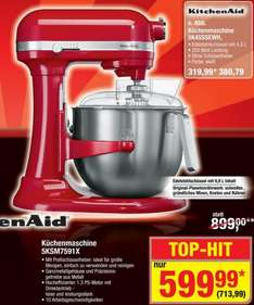 Kitchenaid 5KSM7591X für 713,99 € @ Metro (idealo 799 €)