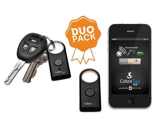 Duo Pack Tag Alarm für iOS / Android / Blackberry   Nie wieder Etwas verlegen '?
