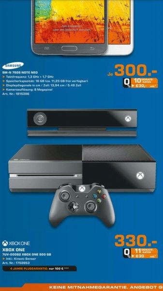 [Lokal Bochum Saturn] Xbox One inkl Kinect