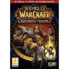 World of Warcraft: Warlords of Draenor für €26.85 @ CDKEYS