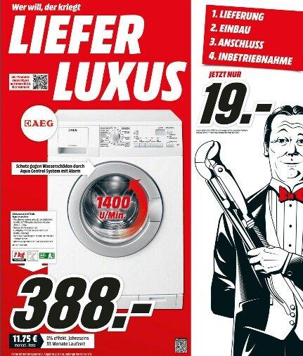 (lokal) AEG Lavamat L6472 AFL für 388€ [Media Markt bundesweit]