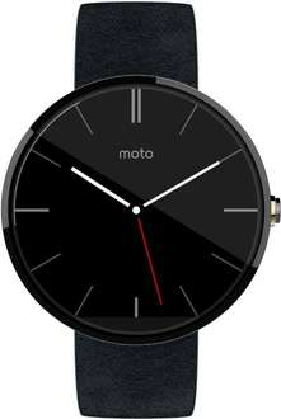 Amazon es+fr - Motorola Moto 360 in schwarz - Smartwatch Android (regulärer Preis ca. 240€)
