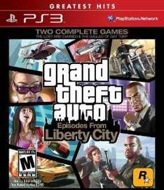 PS3 Downloads: GTA IV, Episodes from Liberty City, Liberty City Stories jeweils 4,41€ @ Amazon.com