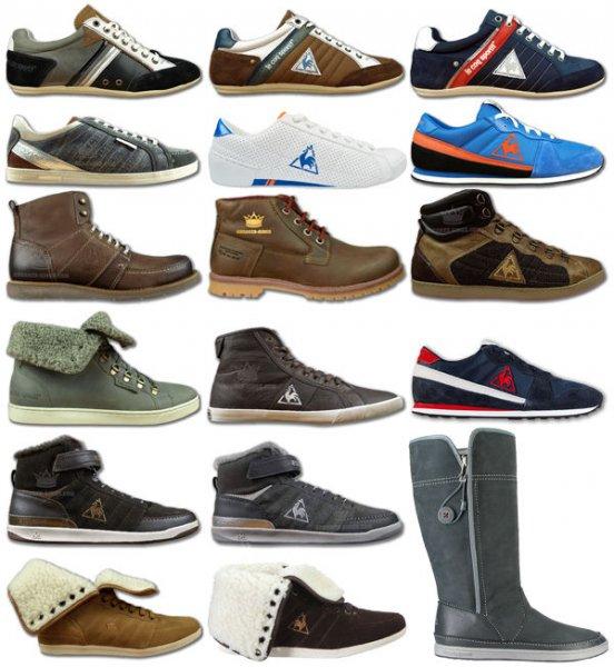 Le Coq Sportif Neu 15 Modelle Leder Damen und Herren Low Mid High Schuhe Stiefel