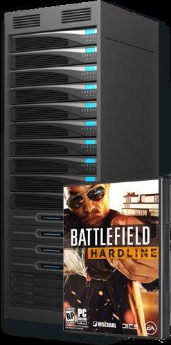 Battlefield Hardline für PC 1x gratis beim Mieten von 3 Monate Prepaid Server