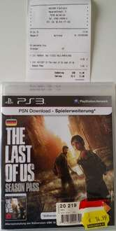 [Lokal - MediMax Waldkirch] The Last of Us - Season Pass PS3