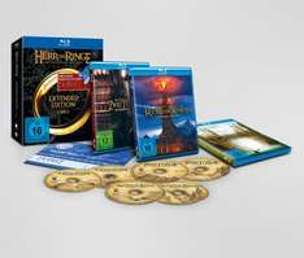 Der Herr der Ringe - Die Spielfilm Trilogie (Extended Edition) BluRay