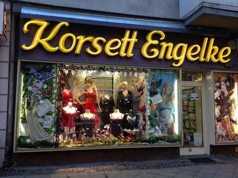 [Lokal Berlin Charlottenburg] Große Sonderaktion bei Korsett Engelke, jeder Artikel 10.00€ bis 13.02.2015