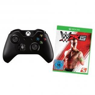 Xbox One Wireless Controller + WWE 2K15 für 55€ @Redcoon.de