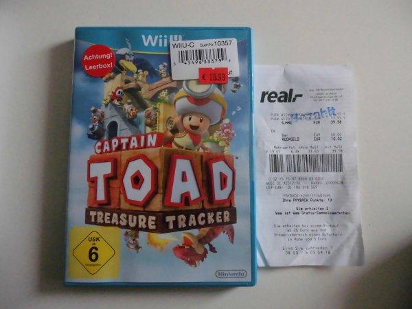 Lokal Real Landshut Wii U Captain Toad Treasure Tracker für 19,99 € (Idealo 36,58 €)