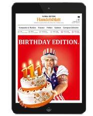 Handelsblatt Global Edition - Jubiläumsausgabe kostenlos