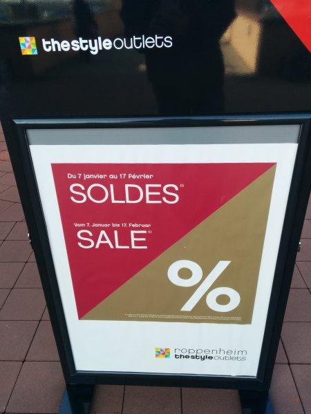 Lokal: Ausverkauf bei TheStyleOutlets in Roppenheim