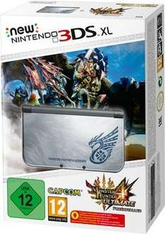 New 3ds Xl silber inkl. Monster Hunter 4 Ultimate