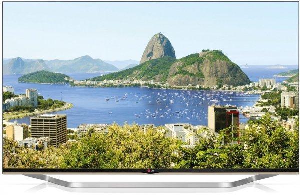 LG 55LB731V 139 cm (55 Zoll) Cinema 3D LED-Backlight-Fernseher (Full HD, 800Hz MCI, DVB-T/C/S, CI+, Wireless-LAN, Smart TV, 2.1 Soundsystem, 24 Watt) silber dunkel für 799,99€