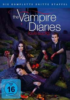 [Amazon WHD PRIME] The Vampire Diaries - Die komplette dritte Staffel [5 DVDs] für 4,30€