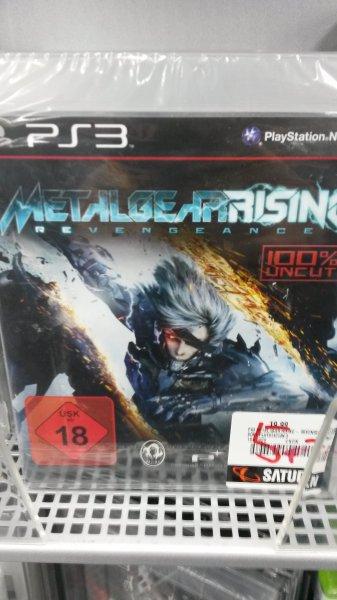 [Saturn Wiesbaden Lilien-Carré] MGS Rising PS3 für 5€