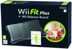 Wii Fit Plus + Balance Board schwarz für 34,55€ @Amazon.co.uk
