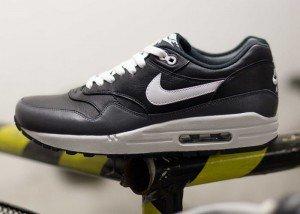 Nike Air Max 1 LTR (black, white - dark grey) Größe 42 für 75,- inkl. Versand