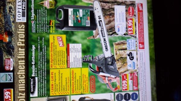 Benzin-Kättensäge MATRIY buy direct  MCS 46-45