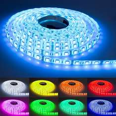 [Ebay] LED Strip 5m 5050 60 LEDs/m 24-Keys Fernbedienung Wasserdicht
