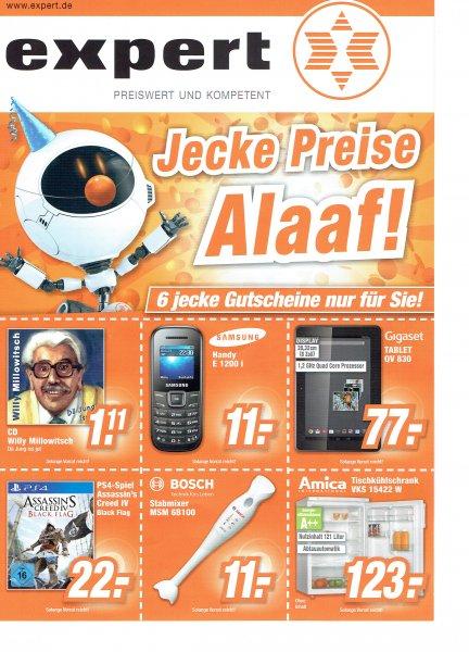 [Expert Bonn Offline] Amica Tischkühlschrank 121 Liter A++ für 123 €