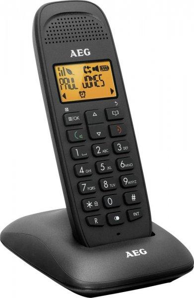 AEG Schnurloses Telefon analog Voxtel D-80 Beleuchtetes Display @digitalo
