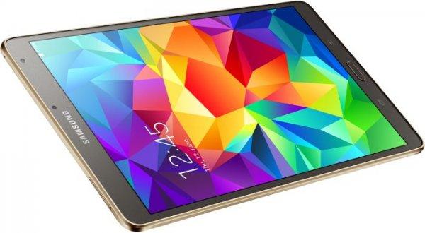 [Saturn Pforzheim] Galaxy Tab S 8.4 16GB WiFi Titanium/Bronze für 199€ oder Samsung Galaxy Tab S 10.5 16GB WiFi weiß für 299€ (Cashback nur noch über das WE!)