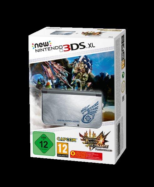 New Nintendo 3DS Monster Hunter Edition bei Müller