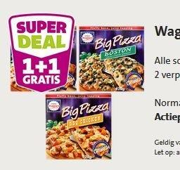 [Jumbosupermarkt (Niederlande)] Wagner Big Pizza 2für1 - 2 Pizza für zusammen 2,59€