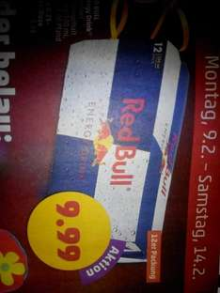 [lokal Rhein-Neckar?] 12x Red Bull 250ml für 9,99€ bei Penny