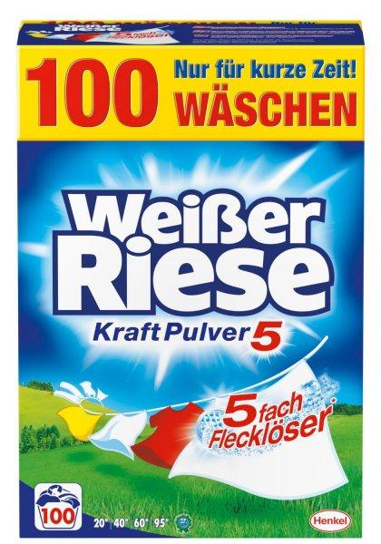 [Amazon] Angebot Weißer Riese Kraft Pulver, 1er Pack (1 x 100 Waschladungen)